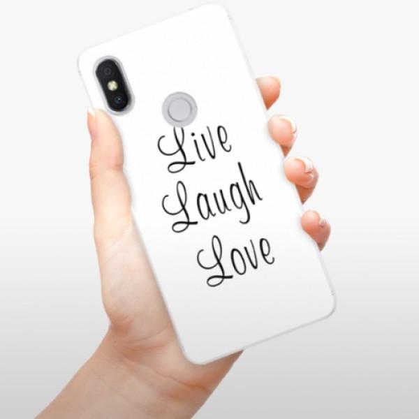Silikonové pouzdro iSaprio - Live Laugh Love - Xiaomi Redmi S2