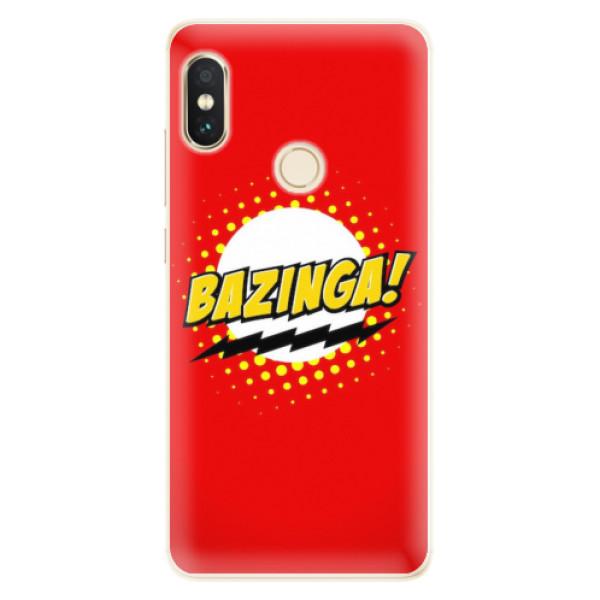 Silikonové pouzdro iSaprio - Bazinga 01 - Xiaomi Redmi Note 5