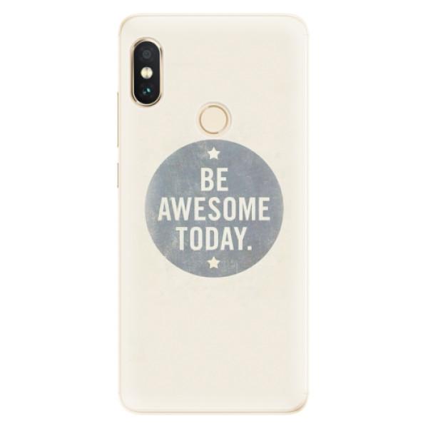 Silikonové pouzdro iSaprio - Awesome 02 - Xiaomi Redmi Note 5