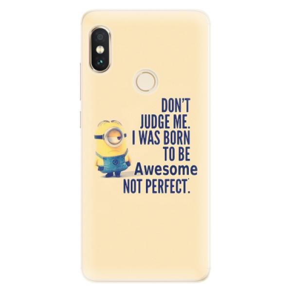 Silikonové pouzdro iSaprio - Be Awesome - Xiaomi Redmi Note 5