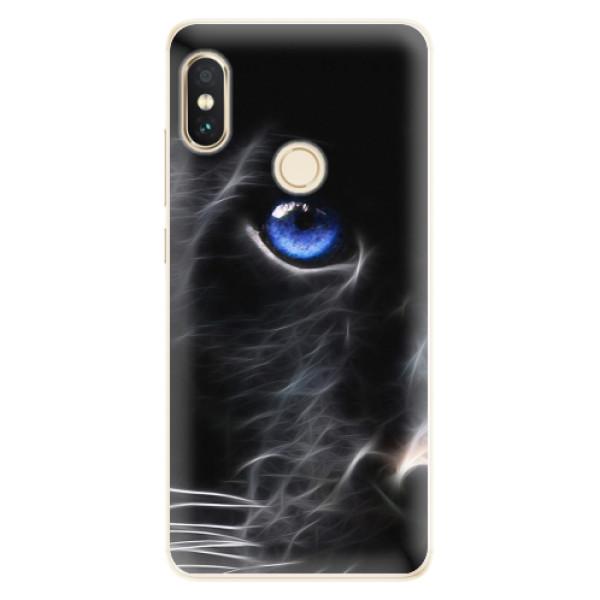 Silikonové pouzdro iSaprio - Black Puma - Xiaomi Redmi Note 5