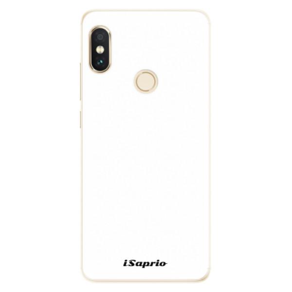 Silikonové pouzdro iSaprio - 4Pure - bílý - Xiaomi Redmi Note 5