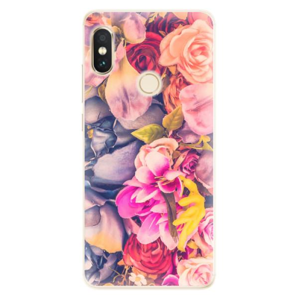 Silikonové pouzdro iSaprio - Beauty Flowers - Xiaomi Redmi Note 5