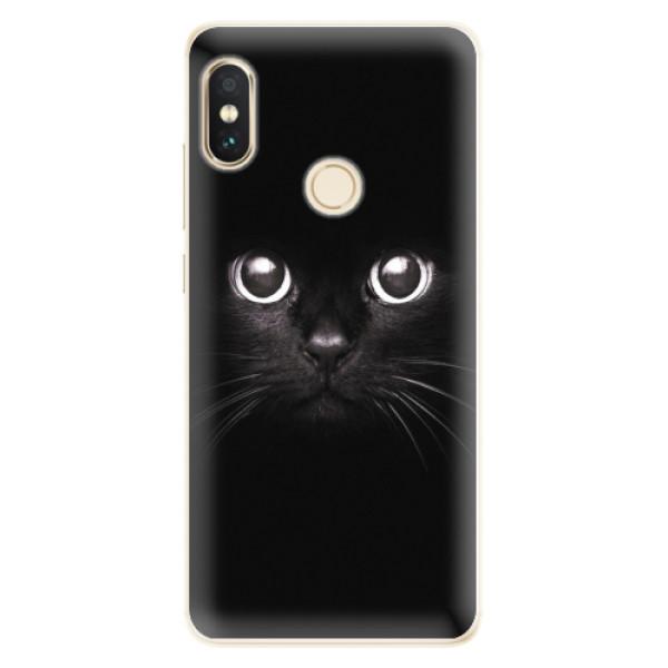 Silikonové pouzdro iSaprio - Black Cat - Xiaomi Redmi Note 5