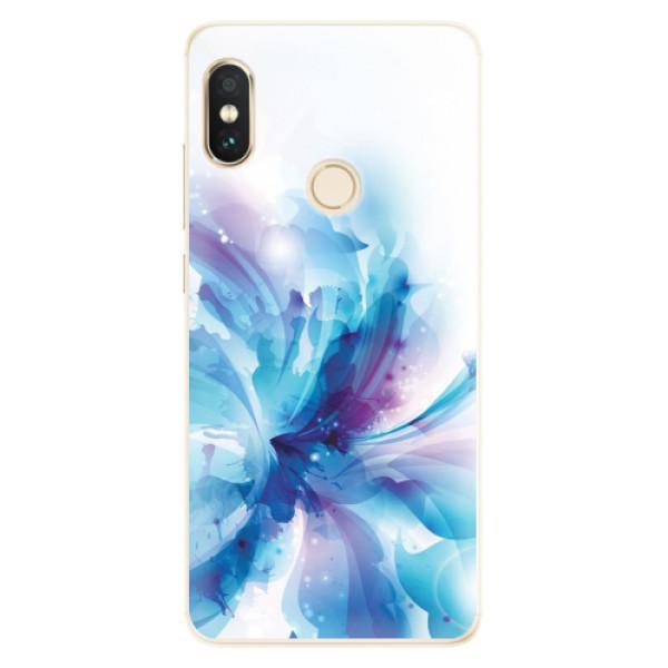 Silikonové pouzdro iSaprio - Abstract Flower - Xiaomi Redmi Note 5