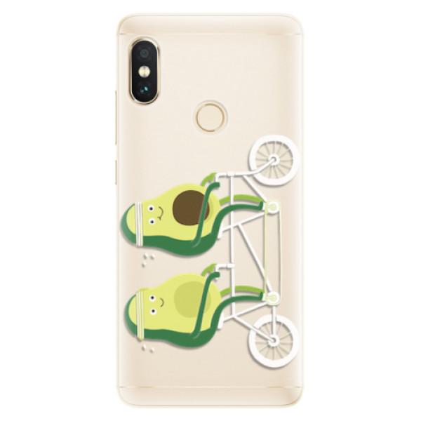 Silikonové pouzdro iSaprio - Avocado - Xiaomi Redmi Note 5