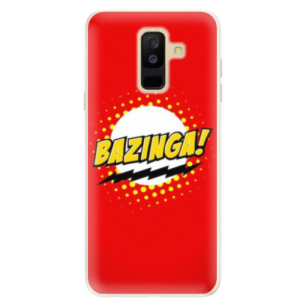 Silikonové pouzdro iSaprio - Bazinga 01 - Samsung Galaxy A6+
