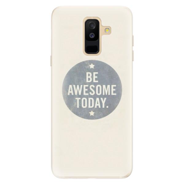 Silikonové pouzdro iSaprio - Awesome 02 - Samsung Galaxy A6+