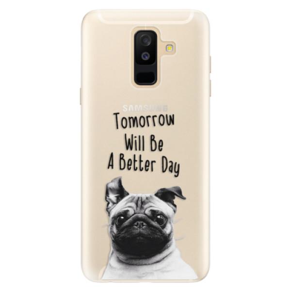 Silikonové pouzdro iSaprio - Better Day 01 - Samsung Galaxy A6+