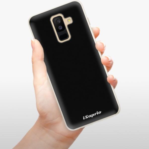 Silikonové pouzdro iSaprio - 4Pure - černý - Samsung Galaxy A6+