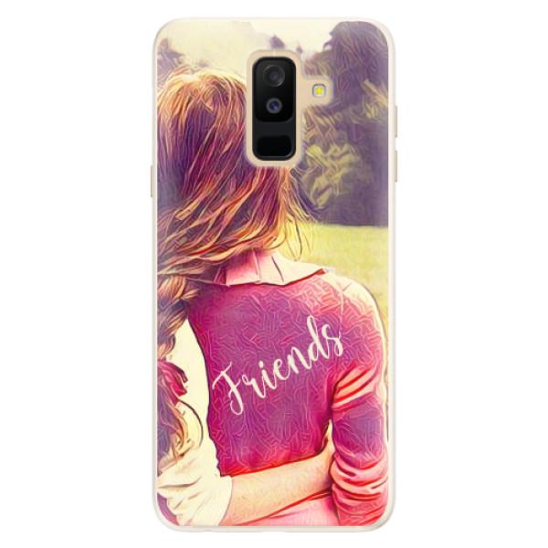Silikonové pouzdro iSaprio - BF Friends - Samsung Galaxy A6+