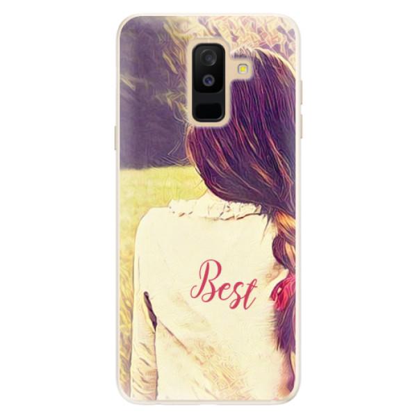 Silikonové pouzdro iSaprio - BF Best - Samsung Galaxy A6+