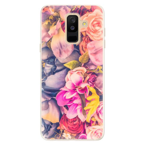 Silikonové pouzdro iSaprio - Beauty Flowers - Samsung Galaxy A6+
