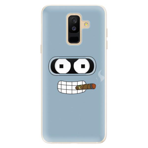 Silikonové pouzdro iSaprio - Bender - Samsung Galaxy A6+
