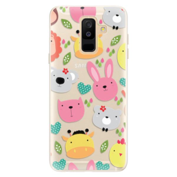 Silikonové pouzdro iSaprio - Animals 01 - Samsung Galaxy A6+