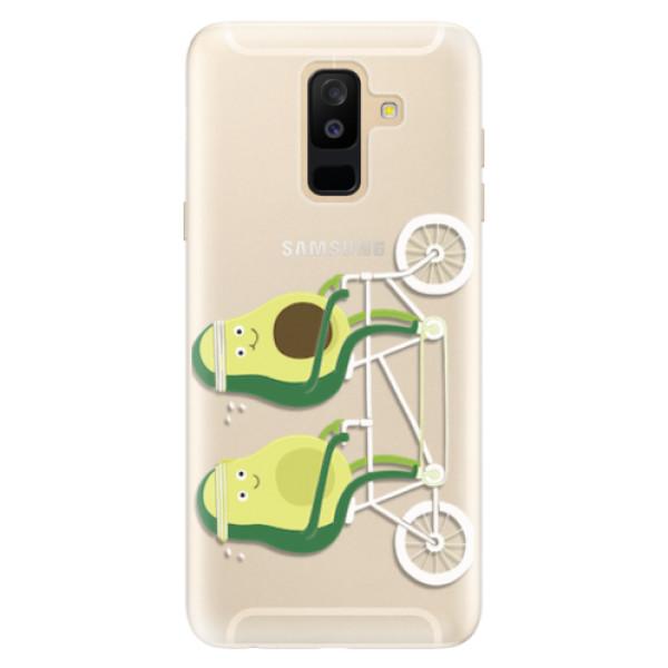 Silikonové pouzdro iSaprio - Avocado - Samsung Galaxy A6+