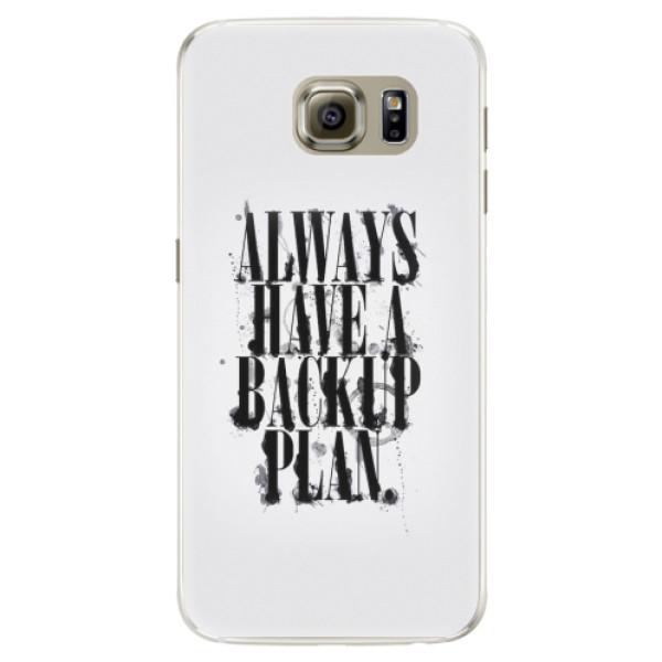 Silikonové pouzdro iSaprio - Backup Plan - Samsung Galaxy S6