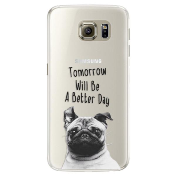Silikonové pouzdro iSaprio - Better Day 01 - Samsung Galaxy S6