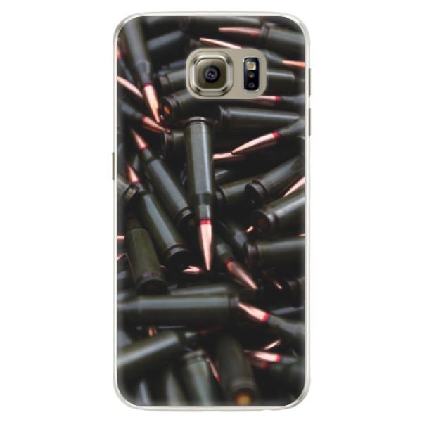 Silikonové pouzdro iSaprio - Black Bullet - Samsung Galaxy S6