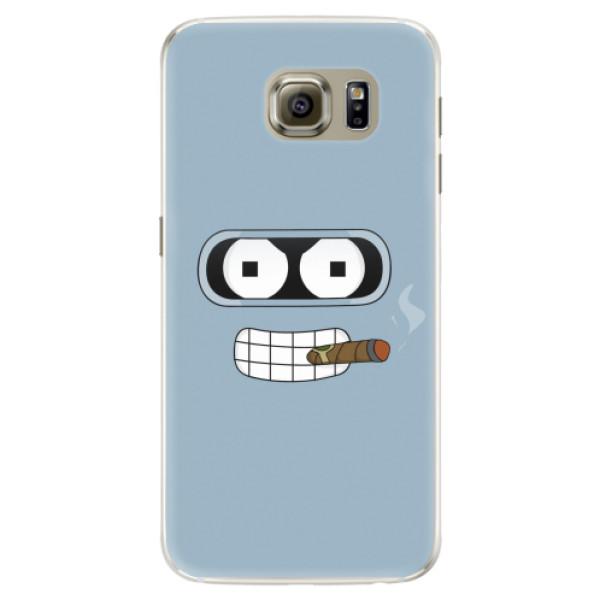 Silikonové pouzdro iSaprio - Bender - Samsung Galaxy S6