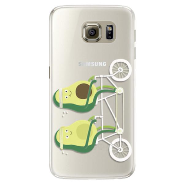 Silikonové pouzdro iSaprio - Avocado - Samsung Galaxy S6
