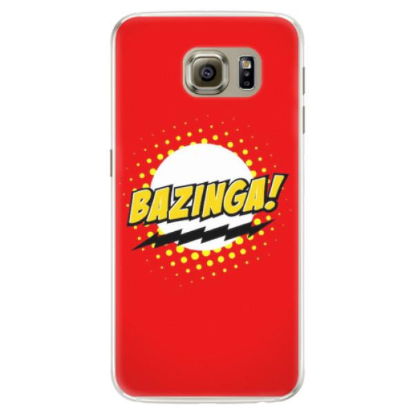 Silikonové pouzdro iSaprio - Bazinga 01 - Samsung Galaxy S6 Edge