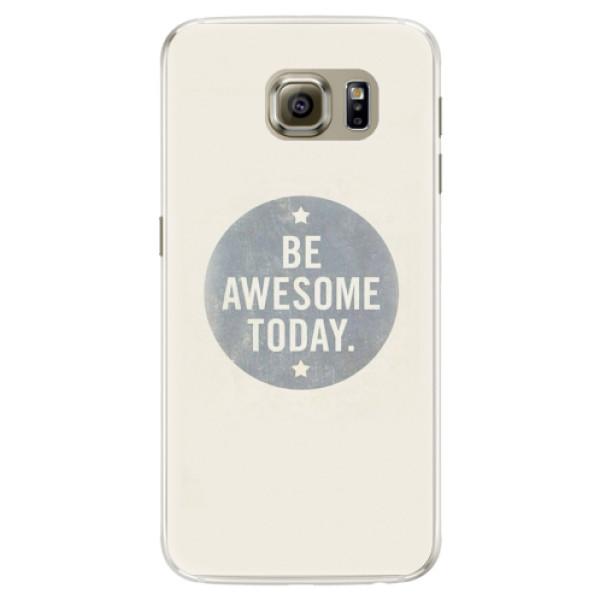 Silikonové pouzdro iSaprio - Awesome 02 - Samsung Galaxy S6 Edge