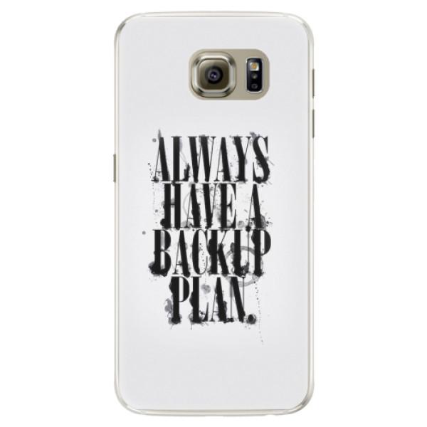 Silikonové pouzdro iSaprio - Backup Plan - Samsung Galaxy S6 Edge