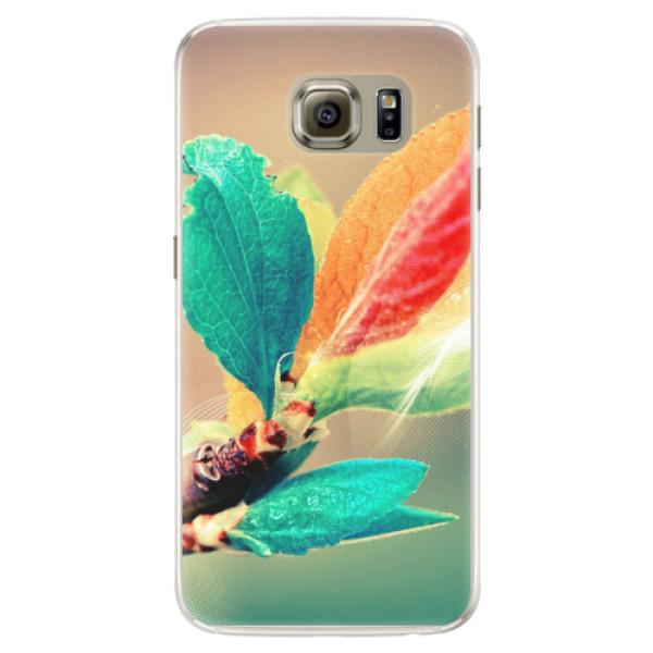 Silikonové pouzdro iSaprio - Autumn 02 - Samsung Galaxy S6 Edge