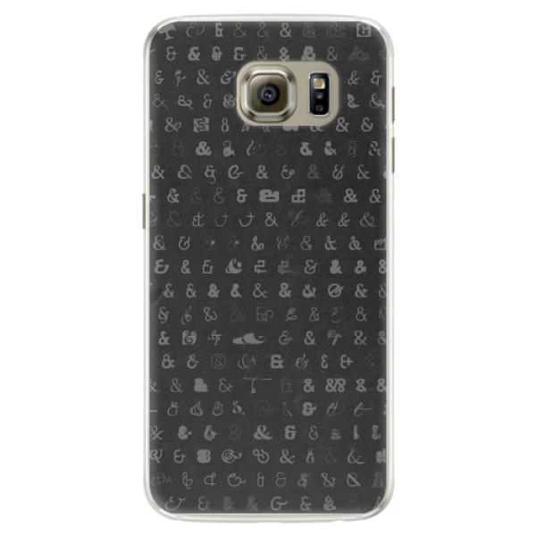 Silikonové pouzdro iSaprio - Ampersand 01 - Samsung Galaxy S6 Edge