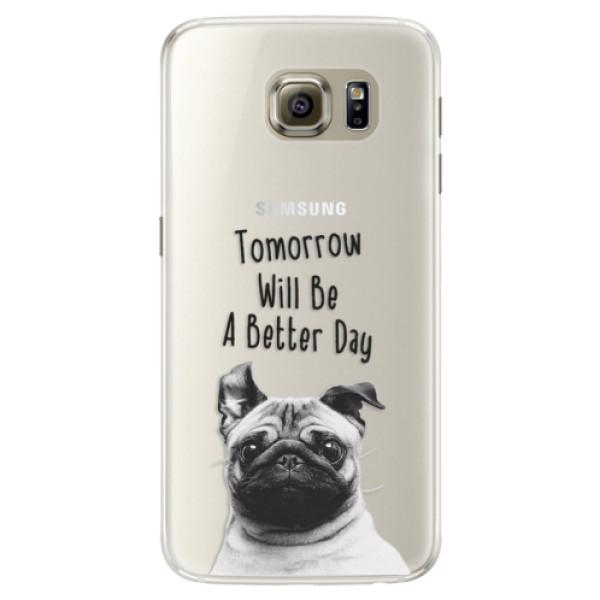 Silikonové pouzdro iSaprio - Better Day 01 - Samsung Galaxy S6 Edge