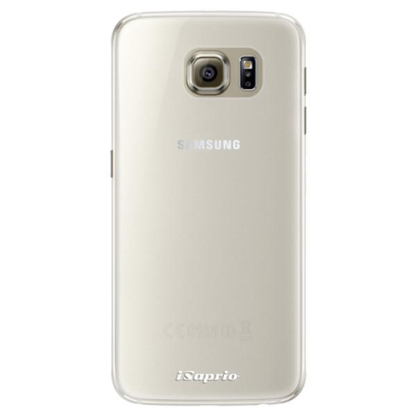 Silikonové pouzdro iSaprio - 4Pure - mléčný bez potisku - Samsung Galaxy S6 Edge