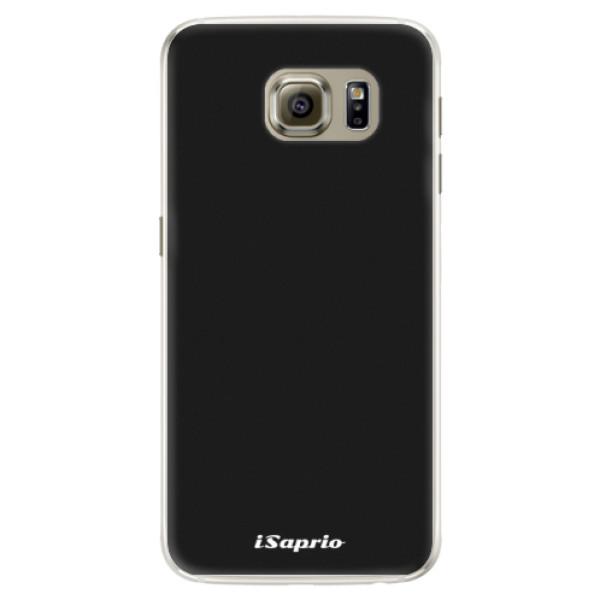 Silikonové pouzdro iSaprio - 4Pure - černý - Samsung Galaxy S6 Edge