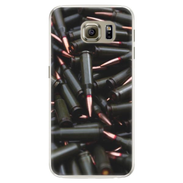 Silikonové pouzdro iSaprio - Black Bullet - Samsung Galaxy S6 Edge