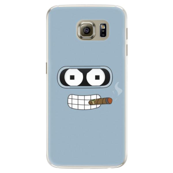 Silikonové pouzdro iSaprio - Bender - Samsung Galaxy S6 Edge
