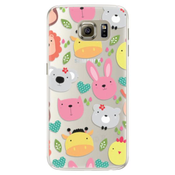 Silikonové pouzdro iSaprio - Animals 01 - Samsung Galaxy S6 Edge