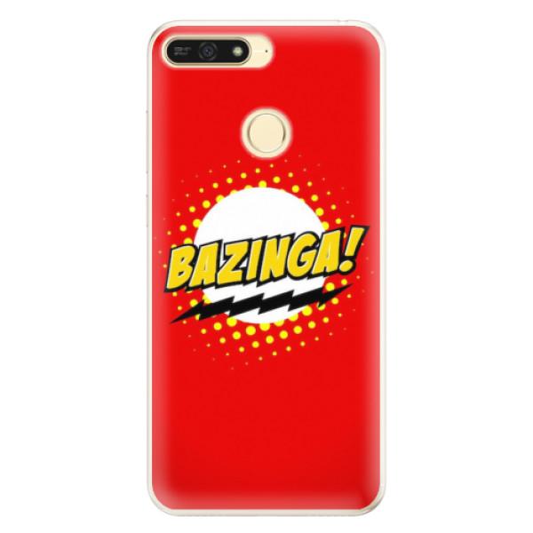 Silikonové pouzdro iSaprio - Bazinga 01 - Huawei Honor 7A