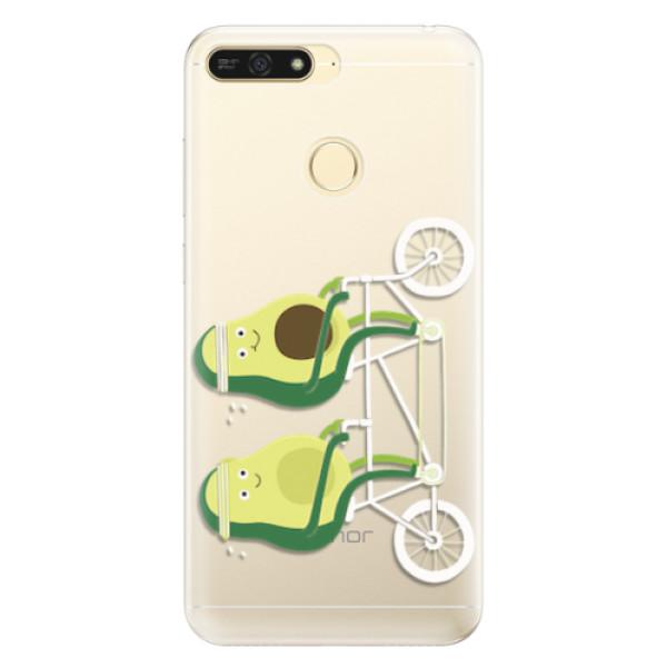 Silikonové pouzdro iSaprio - Avocado - Huawei Honor 7A
