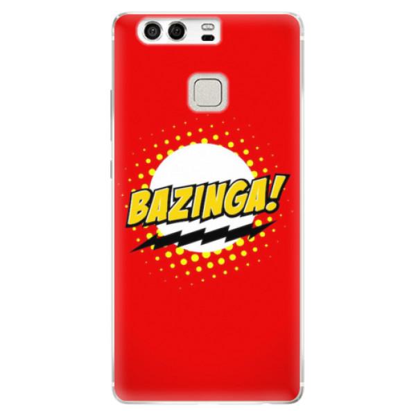Silikonové pouzdro iSaprio - Bazinga 01 - Huawei P9