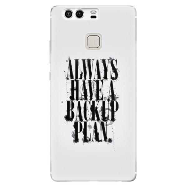 Silikonové pouzdro iSaprio - Backup Plan - Huawei P9