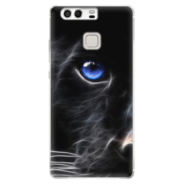 Silikonové pouzdro iSaprio - Black Puma - Huawei P9