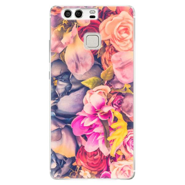 Silikonové pouzdro iSaprio - Beauty Flowers - Huawei P9