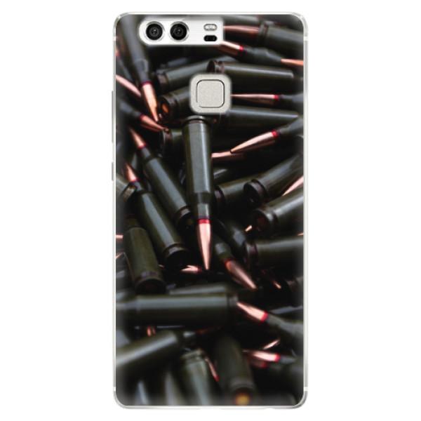 Silikonové pouzdro iSaprio - Black Bullet - Huawei P9