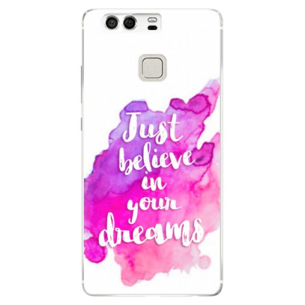 Silikonové pouzdro iSaprio - Believe - Huawei P9