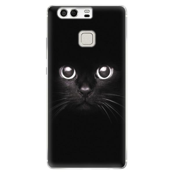 Silikonové pouzdro iSaprio - Black Cat - Huawei P9