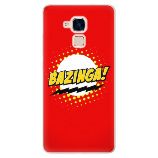 Silikonové pouzdro iSaprio - Bazinga 01 - Huawei Honor 7 Lite