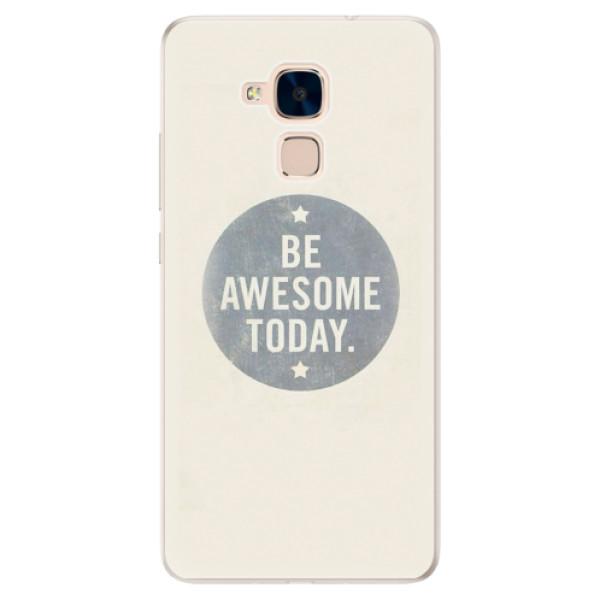Silikonové pouzdro iSaprio - Awesome 02 - Huawei Honor 7 Lite