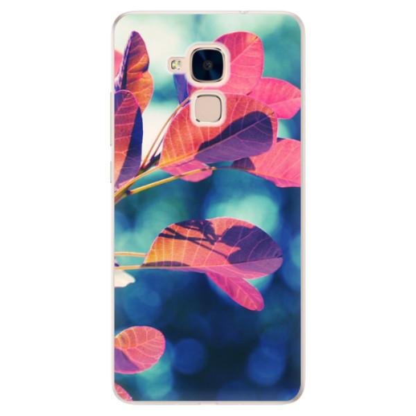 Silikonové pouzdro iSaprio - Autumn 01 - Huawei Honor 7 Lite