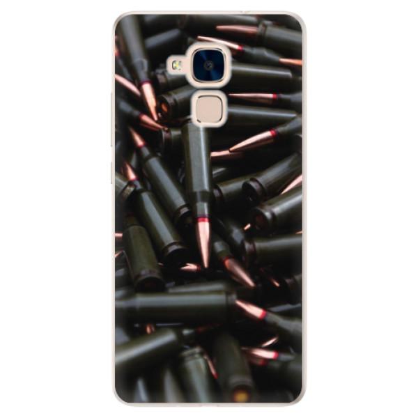 Silikonové pouzdro iSaprio - Black Bullet - Huawei Honor 7 Lite