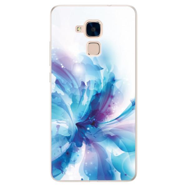 Silikonové pouzdro iSaprio - Abstract Flower - Huawei Honor 7 Lite